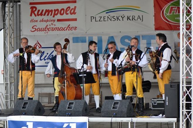 Dudácká kapela ze Strakonic nemůže chybět.