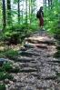 Kamenné schody zde přetrvaly věky a jsou stále ve velmi dobrém stavu.