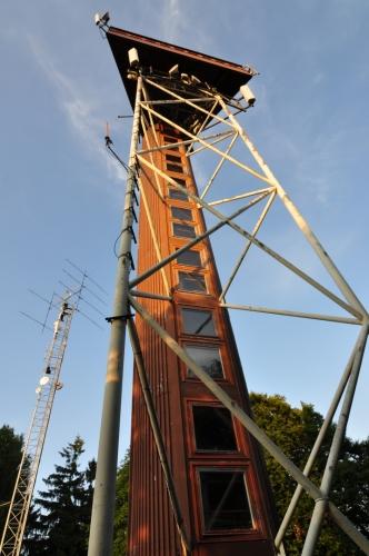 Koráb nad Kdyní je rozhlednou na stejnojmenném vrcholu (773 m n. m.). Ocelová stavba nahradila původní dřevěnou rozhlednu v roce 1992.