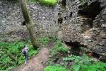 Uvnitř hradu.