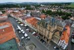 Letecký pohled na náměstí nemá chybu. Nakonec nahoře strávíme celé věky...