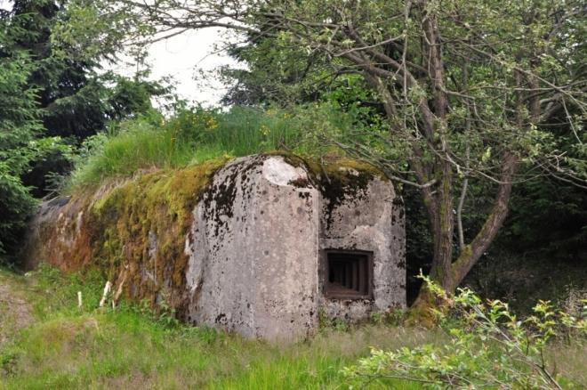 Nad Bílou Smědou je celá řada ŘOPíků, bunkrů vystavěných ve 30-tých letech, lemujících celé pohraničí.