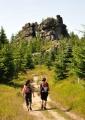 Cestou k Pytláckým skalám.