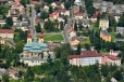 Hejnický kostel máme jako na dlani (zoom 200mm).