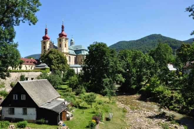 Bazilika Navštívení Panny Marie.