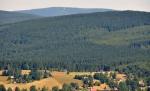 Horní Polubný a Smrk s dobře viditelným Nebeským žebříkem.