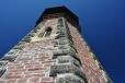 Při dostavbě byla k dolní 6 m části dostavěna štíhlá osmiboká věž z kombinace cihel a pískovce. Výška rozhledny je 24 m.