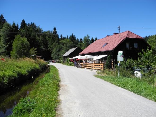 Sonnenwald a Schwarzenberský kanál.