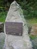 Památník rekonstrukce Schwarzenberského kanálu u Korandy.