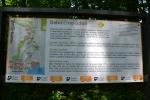 Informační tabule v Babiččině údolí.