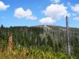 Kamenná moře Steinfleckberku. Nad vrchním mořem stojí malá dřevěná chatka. Dobrý tip na další průzkum.