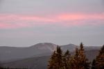 Javorová barva těmto kopcům docela sluší.