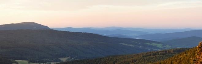 Falkenštein je jednou z bavorských národních hor. Z jeho vrcholu přehlédnete zemi až k dunajským nížinám.