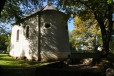 Kostel v Hůrce, kde si můžete jedenkrát klinknout na zdejší zvon.