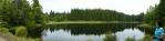Panorama Žďáreckého jezírka