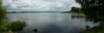 Panorama Lipna od Račínské zátoky