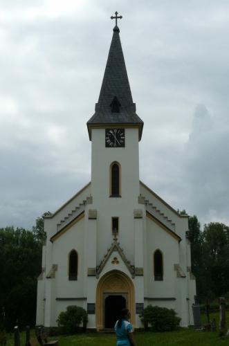 Kostel v Zadní Zvonkové