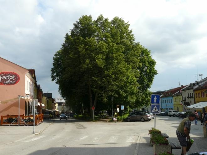 Náměstí ve Frymburku