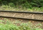 Zvláštní pražce na trati do Lipna