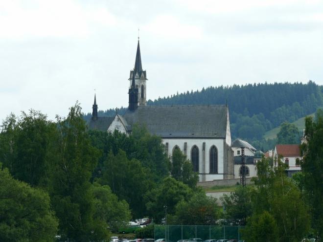 Klášter s kostelem Panny Marie