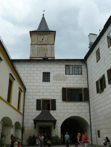 Dolní část zámku