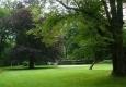 Mohutné stromy v zahradě jistě pamatují mnohé. Zajímalo by mě, jak se jmenuje ten s tmavě fialovými listy.
