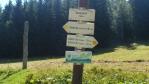 Číhalka - ještě dobrých 500 m na hranici a do kopce ...