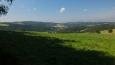 pohled do údolí říčky Olešnky ...