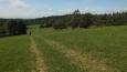pomalu scházíme úbočím Faustova kopce ...