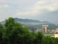 Tchaj-pej, výhled na čtvrť Tan-šuej (Danshui)