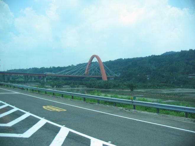 Zajímavý visutý most