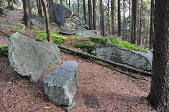 Kamennou lavici využít nešlo, nebyla vyhřívaná...