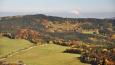 Pohled na Ktišskou horu shora.