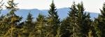Bobík s Boubínem se objevují při sestupu z hory západním směrem.