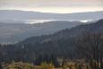 Překvapivě je vidět nejen Lipno, ale i vrcholky Alp.