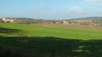 náš trek začal ve vesnici Všehrdy ... modro, na sluníčku už teplo ...