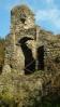 tohle byla severní věž hradu ... většina opracovaných kvádrů skončila mimo jiné i na výstavbě tvrze a dvora Rohy ...