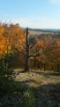 skalní ostroh v západu sluníčka ...