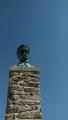 pomník TGM z roku 1935, busta vydržela do roku 1950, pak jí dobří lidé schovali, nainstalovali ji opět až v roce 1968 a jak všichni víme ne na dlouho, v roce 1972 musela opět někam do úkrytu ...