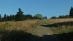 Masaryčka od silnice vedoucí na hřebeny Orlických hor, která byla vybudovaná až deset let po dokončení výstavby chaty v roce 1935 ...teprve až po roce 1974 byla dostavěno pokračování horské silnice za Orlické hory do Bedřichovky a dál do Bartošovic a Mladkova ...