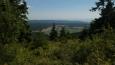 pohled do údolí Divoké Orlice na Bedřichovku a Orlické Záhoří ...