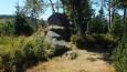 kamenný vrchol Homole 1001 mnm ...