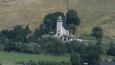 kostelík Panny Marie  v Mostowicích, malé horské vesnici na hranici s Českem ...