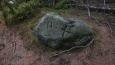 další značka nebo hraniční kámen; výhodu měli ti, co značení dělali, nemuseli sem nosit a vozit patniky, přiroda to udělala dávno předem ...