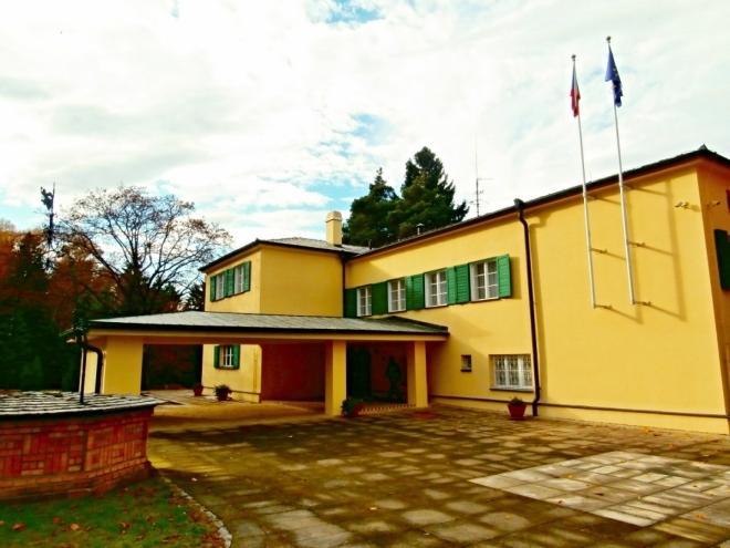 Vila Hany a Edvarda Benešových v Sezimově Ústí