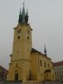 Kostel svatého Jakuba Staršího na příbramském náměstí