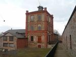 Budova nad dolem Vojtěch, který je držitelem světového prvenství svislé hloubky 1000 m, dosažené roku 1875.