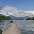 U Bledského jezera