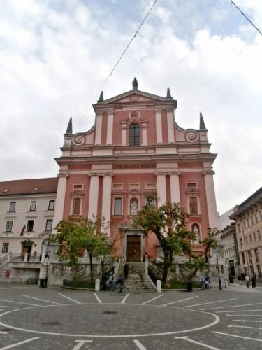 Františkánský kostel Zvěstování Panny Marie