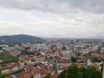 Lublaň se Šišenski hribem a vrhem Staneta Kosca